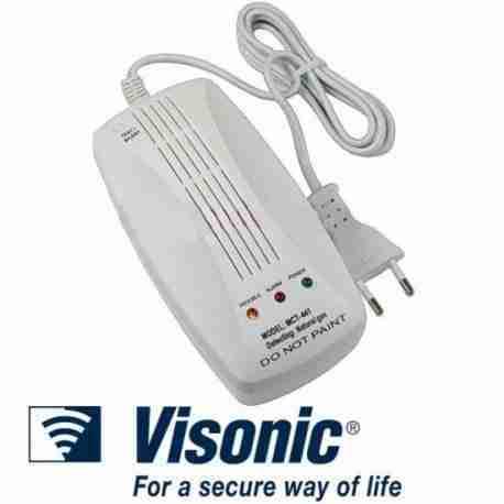 detector de gas natural alarmas tyco para casa y negocio