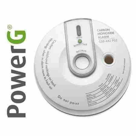 detector de monóxido de carbono alarmas tyco para casa y negocio