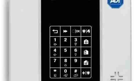 nuevo panel tyco adt para sistemas de alarmas de hogar casa o negocio