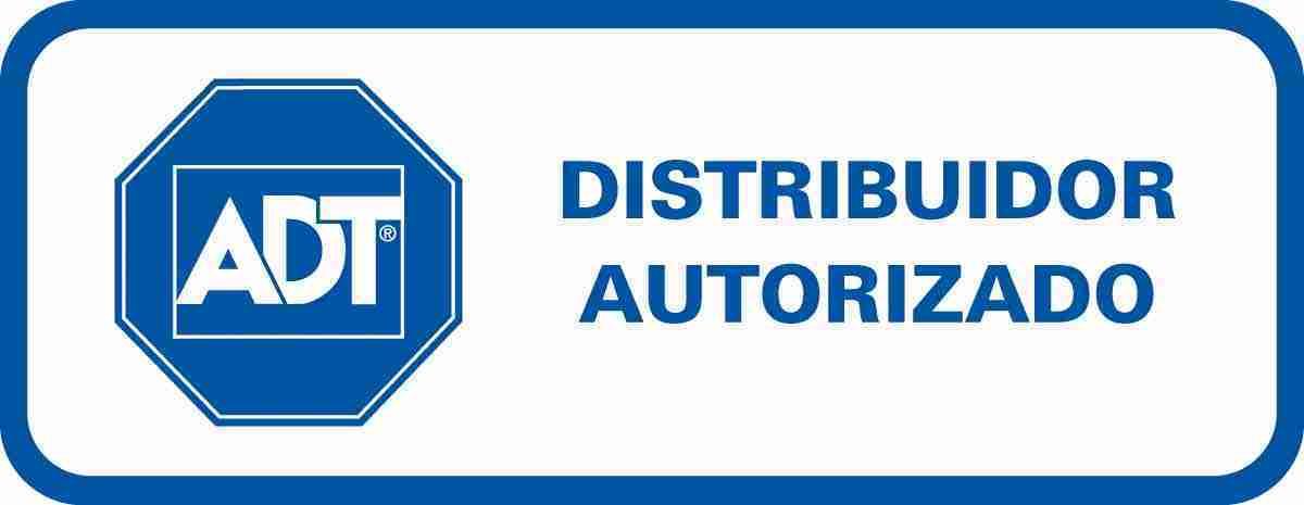 logo adt distribuidor autorizado de sistemas de alarmas para hogar o negocio