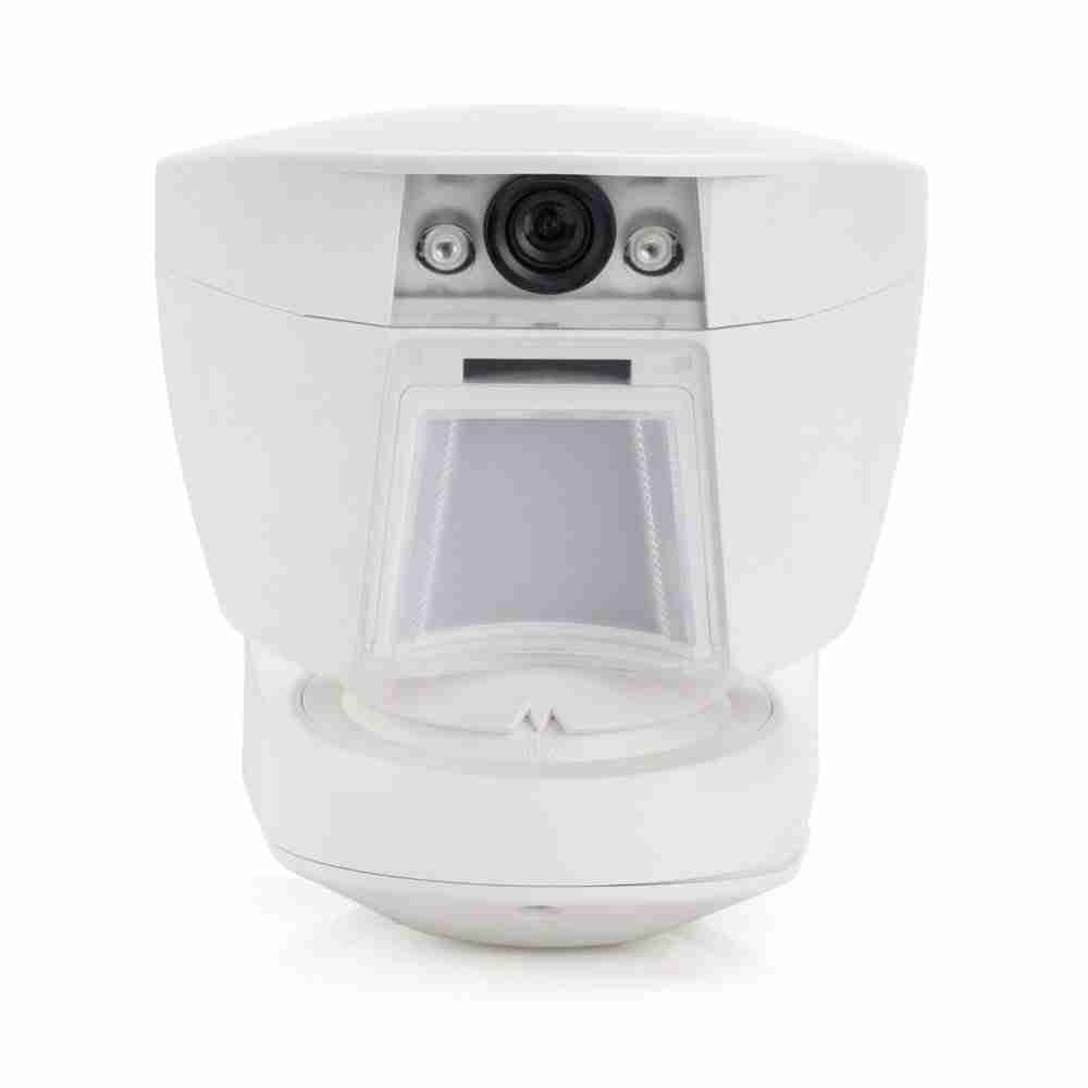 detector exterior pir con camara para sistemas de alarmas casa hogar negocio