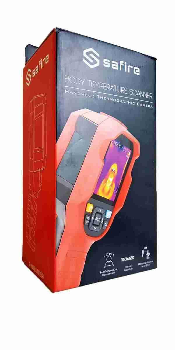 cámara termográfica portátil safire