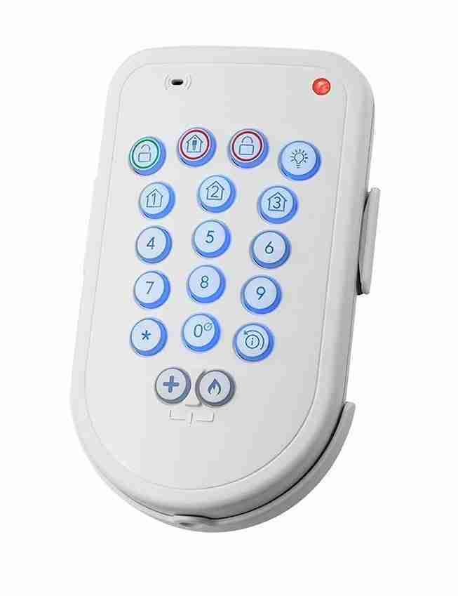 teclado inalámbrico 2021 kit alarma adt